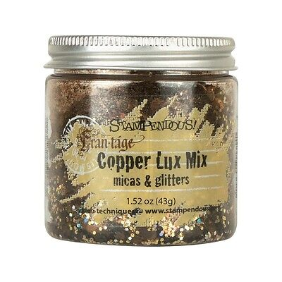 Stampendous Micas & Glitters Lux Mix 1.27oz - Copper (CLEARANCE ITEM)