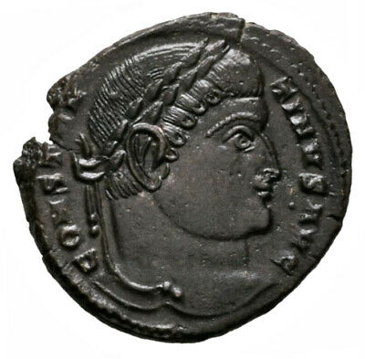 CONSTANTINE THE GREAT (325 AD) Ae3 Follis. Trier #RB 1910
