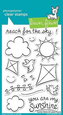 Lawn Fawn Die & Stamp Set - Sunny Sky