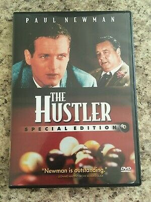 THE HUSTLER Special Edition DVD with Insert Paul Newman Jackie Gleason Nice