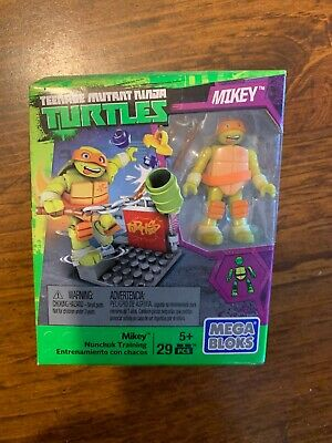 Mega Bloks Construx Teenage Mutant Ninja Turtles Mikey Nunchuck Training Figure