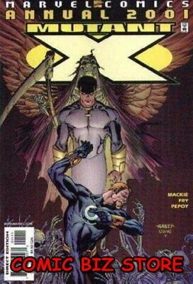 Mutant X Annual #1 (2001) 1St Printing Bagged & Boarded Marvel Comics