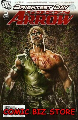 Green Arrow #3 (2010) 1St Printing Bagged & Boarded Dc Comics