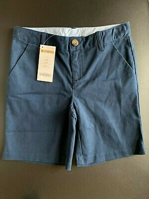 Gymboree Boy's and Girl's School Uniform Shorts Bottoms, Stretch, Size 7, NWT