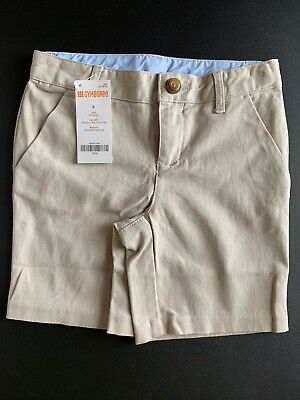 Gymboree Boy's and Girl's School Uniform Shorts Bottoms, Stretch, Size 5, NWT