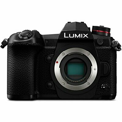 PANASONIC LUMIX G9 4K Digital Camera 3-Inch LCD, DC-G9 (Body Only)