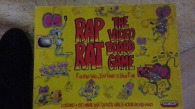 Spears Games Rap Rat The Video Board Game Retro Collectible Very
