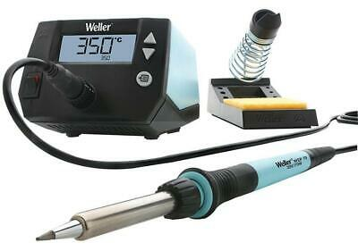 70W 1-Channel Soldering Station with Soldering Iron & Safety Rest - WELLER