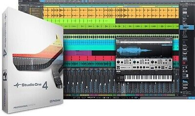PresonusNotion 6 & Studio One 4 Professional for Mac PC Mobile eDelivery NEW