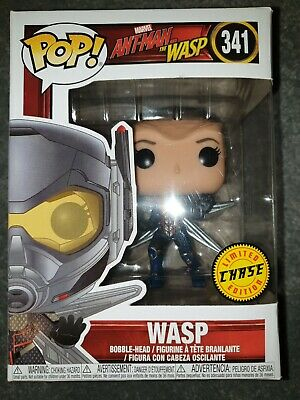 Pop! Marvel #341 Ant-Man and the Wasp - Wasp RARE LIMITED CHASE EDITION - BNIB