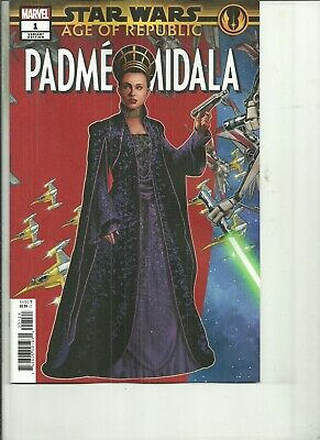STAR WARS AGE OF REPUBLIC PADME AMIDALA #1 VARIANT COVER  Marvel Comics NM 2019