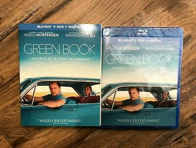 GREEN BOOK BLU-RAY + DVD + DIGITAL CODE NEW w slipcover WON BEST PICTURE!