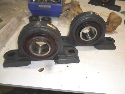 A66) 2X Fafnir 12263 Pillow Block Bearing Smn203K Rrb3 55Mm Bore From Clearance