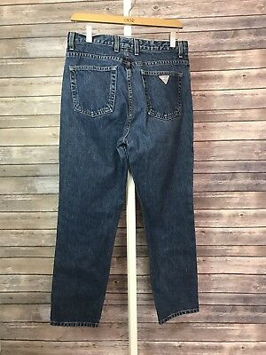 027fd501c34 Vtg 90s Guess High Waisted Mom Jeans Women's Sz 30 x 29 Made In USA Medium