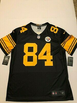 size 40 e9cf7 c205e ANTONIO BROWN PITTSBURGH Steelers Nike Dri-Fit Color Rush Jersey NWT XL NWT