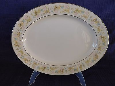 """Noritake Blossom Time 13"""" OVAL PLATTER have more items to this set"""