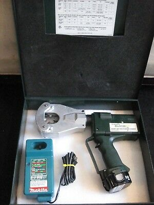 Greenlee Brand 4 Point Dieless Hydraulic Crimper Model EK06FT