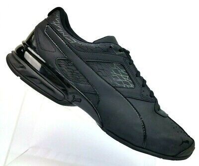 PUMA TAZON 6 Fracture FM Black Cross Trainer Athletic Shoes Mens US 14 EU 48.5