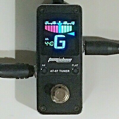 Tom'sline Engineering AT07 Tuner Pedal for Guitar