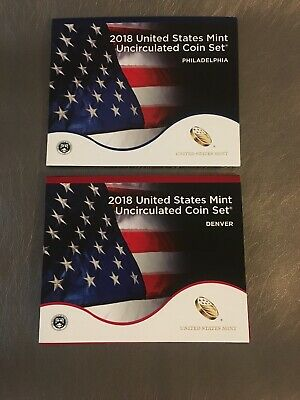2018 P & D United States Mint Uncirculated 20 Coin Set