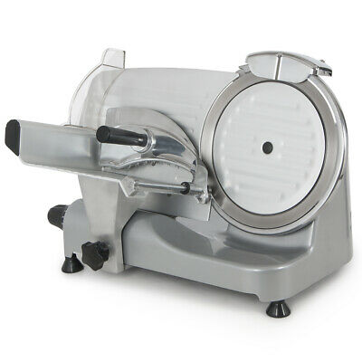 """250W Commercial Deli Meat Slicer 550RPM Food Cheese Cutter 10"""" Blade Electric SS"""