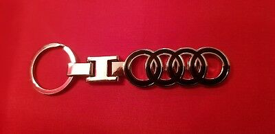 AUDI keyring  A1 2 4 5 6 7 8 TT R8 Q 3 5 7 RS must have UK SELLER FREE P&P