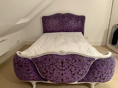 Stunning French Designers Guild Vintage Corbeille Double Bed - Great Condition