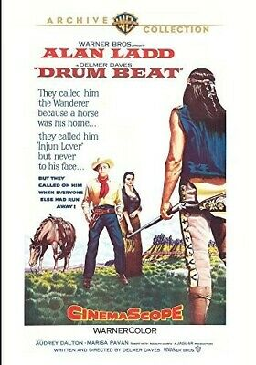Drum Beat (1954) Alan Ladd WB Archive Collection DVD Like New