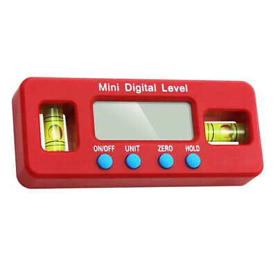Digital Angle Finder Level 360 Degree Spirit Level with Magnets Protractors