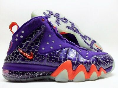 b152c92f92840 Nike Barkley Posite Max Court Purple team Orange Size Men s 8  555097-581