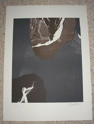 Laszlo Dus #8 - Signed & Dated Limited Edition Lithograph 1981