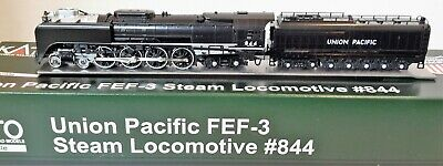 N Scale KATO FEF-3 4-8-4 'Union Pacific' Road #844 DCC Ready Item #126-0401