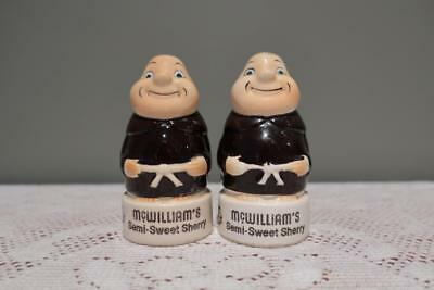 Vintage Japanese McWilliams Sweet Sherry Monks Salt & Pepper Set - Collectable