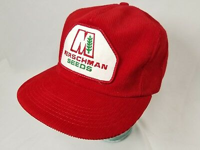 728f7a9528168 VTG DUPONT PIONEER Seeds Patch Corduroy Snapback Cap K-Products Hat ...