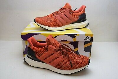 d3e3512873cc5 Adidas Ultra Boost 3.0 S80635 Size 8.5 Energy Fire Red Sneakers Running  Shoes
