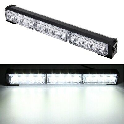 Strobe Lightbar with Multiple flashing patterns Colour White VERY BRIGHT!