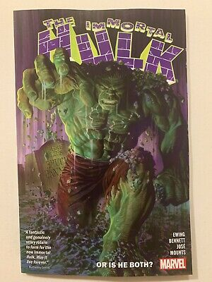 IMMORTAL HULK #1 TPB (2018- Marvel) Alex Ross, Bennett (ISSUES 1-5) NM