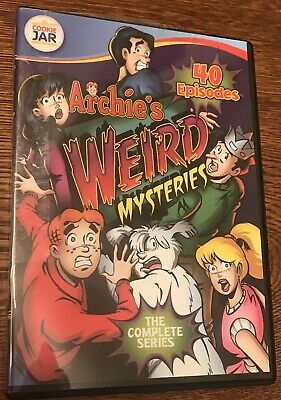 Archie's Weird Mysteries Complete Series Animated Collection 40 Episodes DVD Set