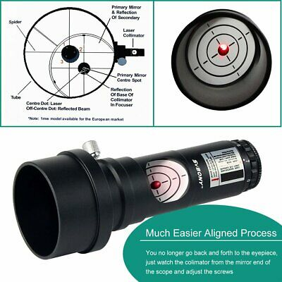 "7 Bright Level 1.25"" Generation Laser Collimator For Newtonian Marca Telescope"