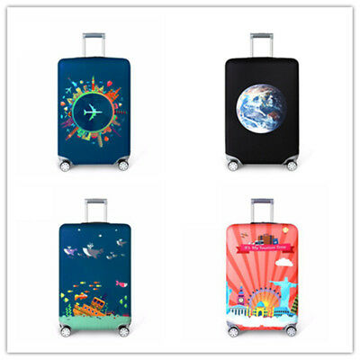 """18""""-32"""" Protective Travel Luggage Cover Dustproof Suitcase Protector Skin Case"""