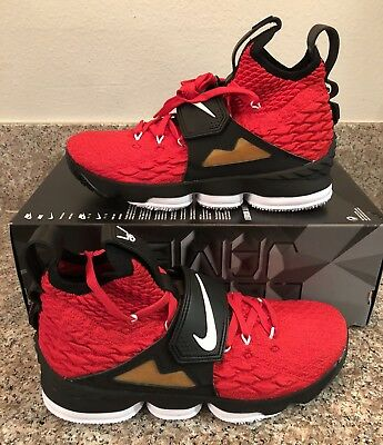 8039096867 NIKE LEBRON 15 DIAMOND TURF Red AO9144 600 SIZE 11.5 LIMITED XV PRIME King  James