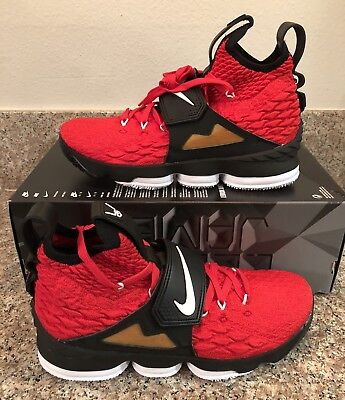 11aeada8b2 NIKE LEBRON 15 DIAMOND TURF Red AO9144 600 SIZE 11.5 LIMITED XV PRIME King  James