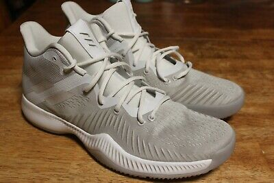 3eab5c8aece1a  NEW  ADIDAS Mad Bounce Men s SIZE 14 Basketball Shoes GREY WHITE 10.5  B27856