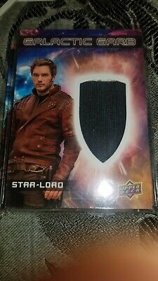 2017 Upper Deck Guardians of the Galaxy Volume 2 Starlord Galactic Garb