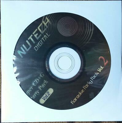 Nutech Karaoke #2 Scdg 1234 Songs Country Rock Oldies Pop Multiplex *2015 Sale*