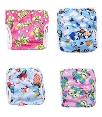 New Reusable Waterproof Nappy Washable Baby Pants Swim Diaper Swimming Supply FA