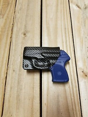 Concealment Ruger LCP 380 IWB Carbon Fiber Black KYDEX Holster Right Hand