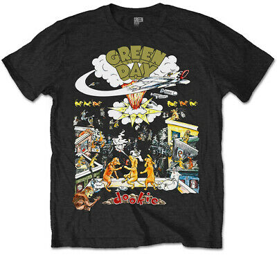 Green Day 'Dookie 1994 Tour' T-Shirt - NEW & OFFICIAL