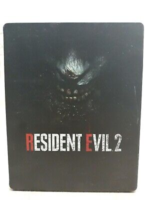 Resident Evil 2 Remake Steelbook ONLY NO GAME  (Playstation 4/Xbox One) NEW