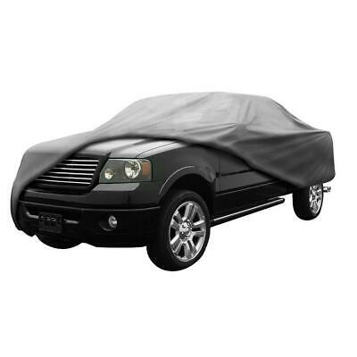Gray Pickup Truck Cover All Weather Waterproof Windproof for Summer Outdoor